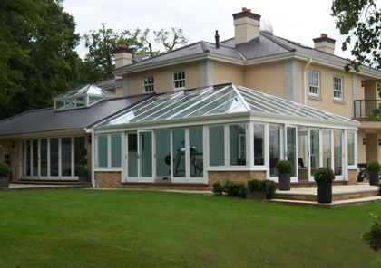Conservatory and Orangery in Hertfordshire
