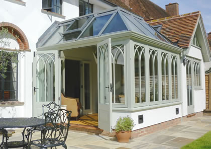 Conservatory in Chalfont St Giles, Bucks
