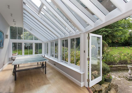 Conservatory family room in Surrey