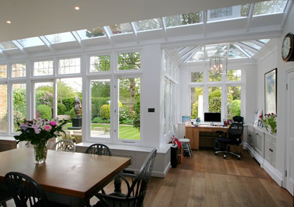 Conservatory in Fulham, London