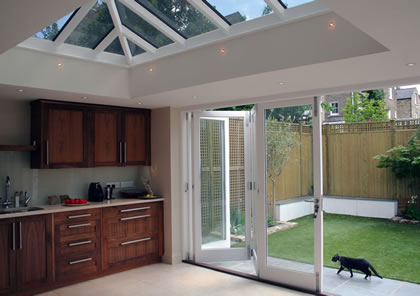 Folding Sliding Doors in Kitchen in Clapham