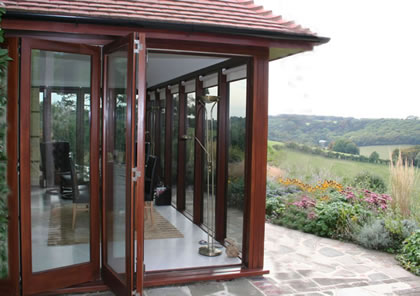 Folding Sliding Doors in Woldingham, Surrey