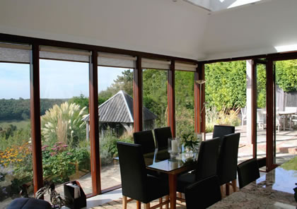Interior folding sliding doors in Surrey