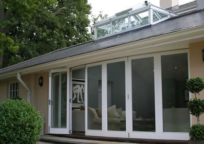 olding Sliding Doors in modern style in Hertfordshire