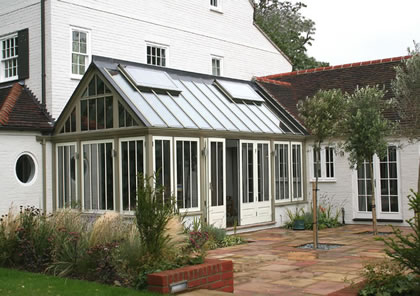 Conservatory in traditional style in Lymington, Hampshire