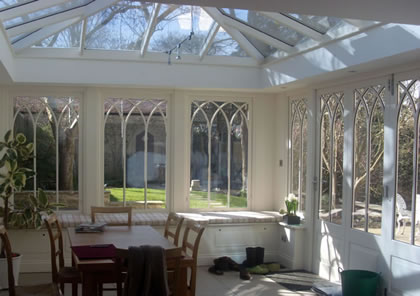 Traditional Orangery on Listed building in Oxfordshire