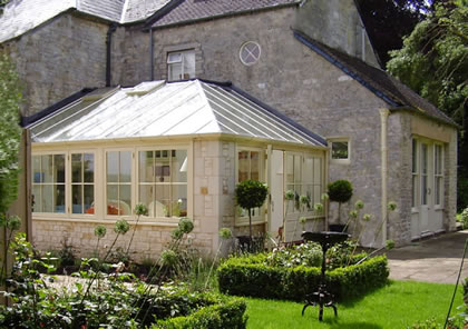 Conservatory on old stone house in  Worcestershire