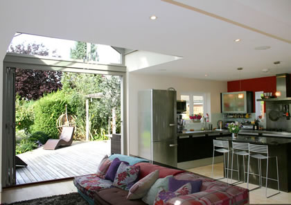 Kitchen extension in South West London