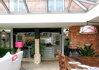 Kitchen Orangery in Aylesbury Bucks