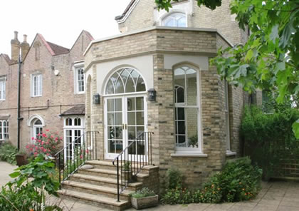Orangery on Listed House in Putney, SW London