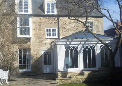 Orangery on Oxford listed house