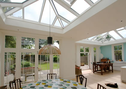 2 Roof Lanterns in South West London
